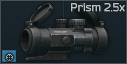 Primary Arms Compact prism scope 2.5x